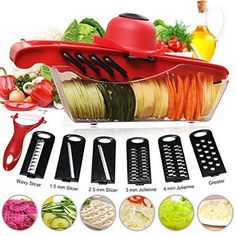 Vegetable Slicer Fruit Cutter Cheese Shredder Kitchen Machine Home Cooking Food #VegetableSlicerFruitCutter