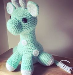 Baby giraffe amigurumi by Cindertom on Etsy