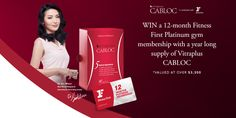 WIN a Fitness First Platinum gym membership with a year long supply of Vitraplus CABLOC Gym Membership, 12 Months, Competition, Fitness