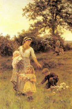 The Garland-Frederick Morgan (1847 – 1927, English)