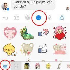 Här hittar du nya emojis
