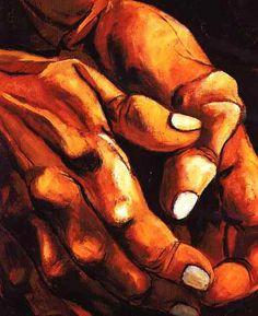 Hands: Eduardo Kingman