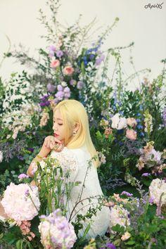 Namjoo Apink, Picture Credit, Cube Entertainment, Flower Girl Dresses, Entertaining, Seasons, Disney Princess, Wedding Dresses, Pictures