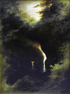 Kai Fine Art is an art website, shows painting and illustration works all over the world. Goldscheider, Moonlight Painting, Gustave Courbet, Esoteric Art, Creepy Art, Traditional Paintings, Art For Art Sake, Landscape Art, Les Oeuvres