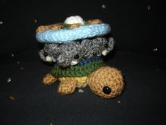 Great A'Tuin - that's #3 pinned from Ginger-PolitiCat on deviantART; basically go look at that whole site. Who, Bab5, Trek, Pratchett, Oz, Minecraft...