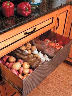 40 ingeniosas ideas para organizar la cocina.   Mil Ideas de Decoración