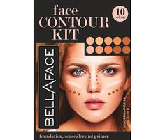 BELLAFACE 10 COLOR CAMOUFLAGE AND CONCEALER PALETTE REVIEW