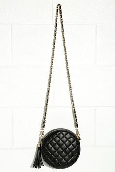Black Quilted Purse | $28