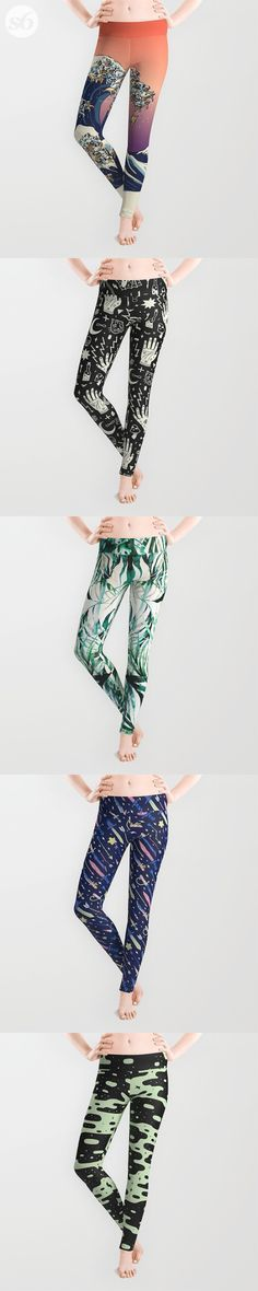 Leggings and millions of other products available http://atSociety6.com today. Every purchase supports independent art and the artist that created it.