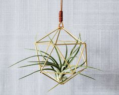 Modern Minimalist Geometric Hanging Ornament, Mobile, Desk Ornament, Centerpiece and Air Plant Holder