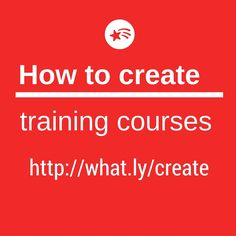 9f00908bec9ac05a18ac6336e7f97de9 Training Courses To Create