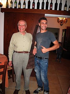 Papa' e Mario - l'ultima battuta di caccia Cotignola (RA) luglio 2009