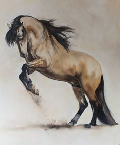 Horse painting by Tony O'Connor