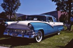 1956 Ford Crown Victoria.  Photography by David E. Nelson