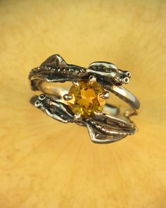 Dragon Ring Silver Dragon Jewelry Double Dragon by martymagic