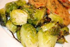 Roasted Brussel Sprouts Recipe 0pts+ Weight Watchers (1 cup 72 calories)