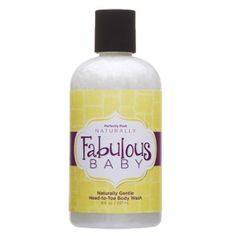 Fabulous Baby - Baby Wash  For the most delicate skin, whether you're pampering baby or babying yourself. 100% vegan. Made from organic ingredients. No soy, gluten, or dairy ingredients.  perfectlyposh.us/poshkelli