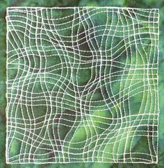 Learn more about free motion quilting through hundreds of free videos posted to the Free Motion Quilting Project blog by Leah Day