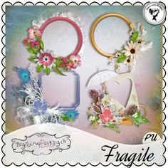 Fragile - Frames by Black Lady Designs