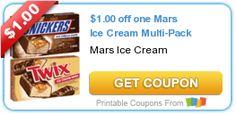 $1.00 off one Mars Ice Cream Multi-Pack