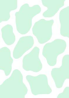 Cow Wallpaper, Animal Print Wallpaper, Cute Patterns Wallpaper, Green Wallpaper, Iphone Background Wallpaper, Wallpaper Quotes, Iphone Wallpaper Tumblr Aesthetic, Aesthetic Pastel Wallpaper, Aesthetic Backgrounds