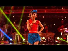 Anita Rani & Gleb Savchenko Jive to 'The Boy Does Nothing' - Strictly Come Dancing: 2015 - YouTube