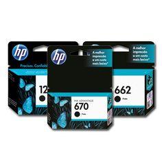 Procurando por impressão de qualidade e cores vivas? Os cartuchos originais da HP garantem um colorido profissional aos seus documentos. #HP #Cartucho