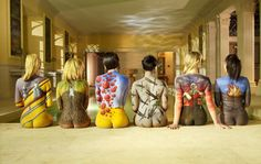 Pink Floyd Women/'s Back Poster  13x19