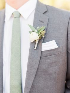 Fabulous Sage Wedding Ideas – sage colour ideas for groom style Looking for a wedding colour that refreshing, tender, exquisite and very relaxing? that's sage wedding color for your wedding! Sage is one of the classical color combos, which. Gray Groomsmen Suits, Groom And Groomsmen Attire, Groom Outfit, Sage Green Wedding, Sage Green Tie, Wedding Men, Wedding Ideas, Menswear Wedding, Wedding Themes
