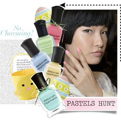 Pastels rule the charts this spring! Nail Trends, Makeup Trends, Beauty Trends, Spring 2014, Summer 2014, Pretty Hands, Prom Girl, Nail Art Hacks, Nail Inspo