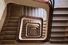 The World's Most Daring Staircases Are In This European This staircase is a study in 1930s and '40s modernism.City Photos | Architectural Digest