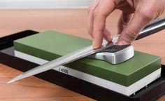 Mejores piedras de afilar cuchillos: como son, qué opciones hay para comprar y como se realiza el proceso de afilar. Resultados profesionales.