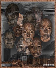 Atrapados por la imagen: rostros en piedra