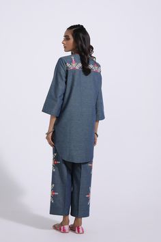 EMBROIDERED SUIT (E0001/103/706) | ETHNIC