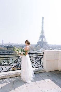 "This magical intimate wedding celebration in Paris is about marrying contemporary table art, a textured 3D embellished gown and accessories with the hotel's ""classic"" style to create a timeless and chic atmosphere. The modern, elegant and graceful couple in a classic atmosphere captured in a fine art style that translates to a delicate and sweet memory when looking back years from today."