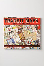 Transit Maps- I love maps! That's strange, but true!
