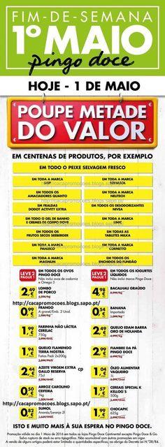 Promoções Pingo Doce - Antevisão descontos Só domingo 1 de maio - Lista atualizada! - http://parapoupar.com/promocoes-pingo-doce-antevisao-descontos-so-domingo-1-de-maio-lista-atualizada/