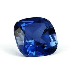 Photo: Blue #sapphire - 2.93ct natural cushion cut sapphire from Madagascar. Shall we set this in a ring or pendant?