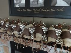 1000 Images About Garlands On Pinterest Burlap Garland Mantles And Fall Garland