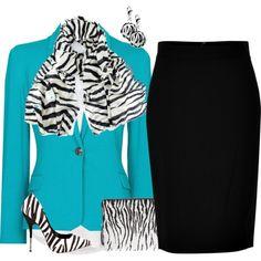 """Turquoise and Zebra"""