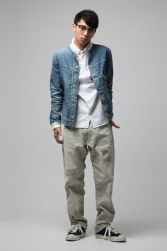 DENIM BY VANQUISH & FRAGMENT 2015 Fall/Winter Lookbook