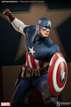 Captain America Premium Format Figure. http://www.alteregocomics.com #captainamerica