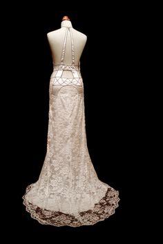eiffel tower wedding dresses by linardos