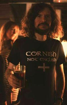 T-SHIRT: 'Cornish not English' ✫ღ⊰n