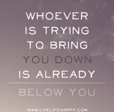 Real talk!...when you at the top... everybody try to bring you down
