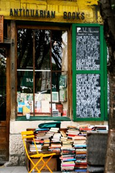 Shakespeare and Company. Fabulous book store in Paris and a perfect place to spend a rainy afternoon!