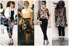 floral dark como usar - Blog Sutileza Femimina