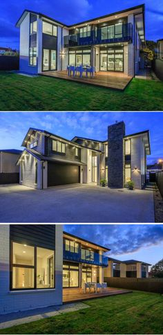 I like the style, cept I'd do wood siding or metal instead of brick.