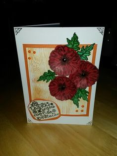 Wee thank you card