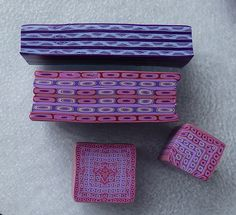 Purple & Magenta Border Canes | Flickr - Photo Sharing!